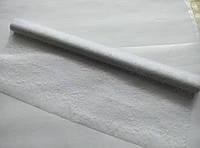 Органза белая металлизированная для упаковки цветов и подарков ( SPIDER )