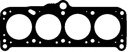 Прокладка головки блока VW 1.6D CR/CS/JK/JP 80-87 3! 1.60MM (Elring). 323.757