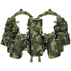 Жилет тактичний M 95 чеський камуфляж MFH