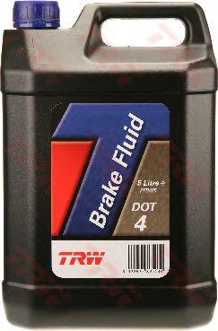 Жидкость тормозная DOT-4 5,0L (TRW). PFB405
