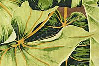 Ролеты тканевые открытого типа Листья