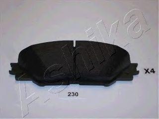 Колодки тормозные TOYOTA RAV 4 (ASHIKA). 50-02-230
