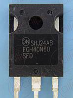 IGBT NPN 600В 40А Fairchild FGH40N60SFD TO247