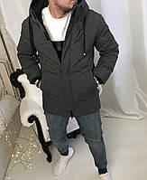 Зимняя мужская удлиненая куртка Insyddе