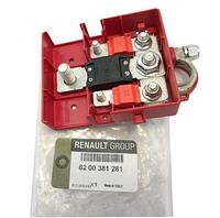 Плюсовая клемма аккумулятора Рено Меган 2 (400 А) (Франция) 8200381281 Новая