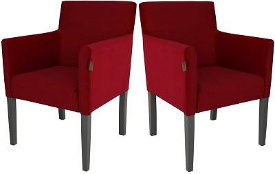 Кресло Остин бордовое - картинка