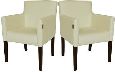 Кресло Остин белое - картинка