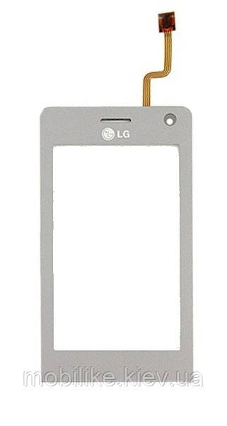 Сенсорный экран LG KU990, KE990 серый