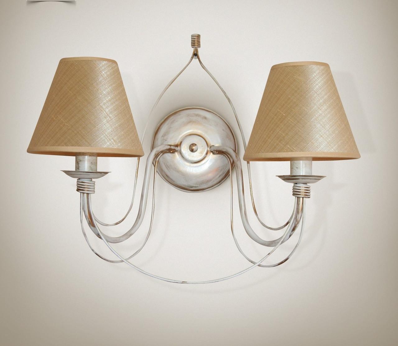 Бра 2-х ламповое, настенный светильник  18320-4