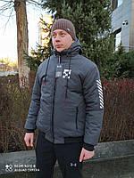 Куртка серая зимняя OFF White
