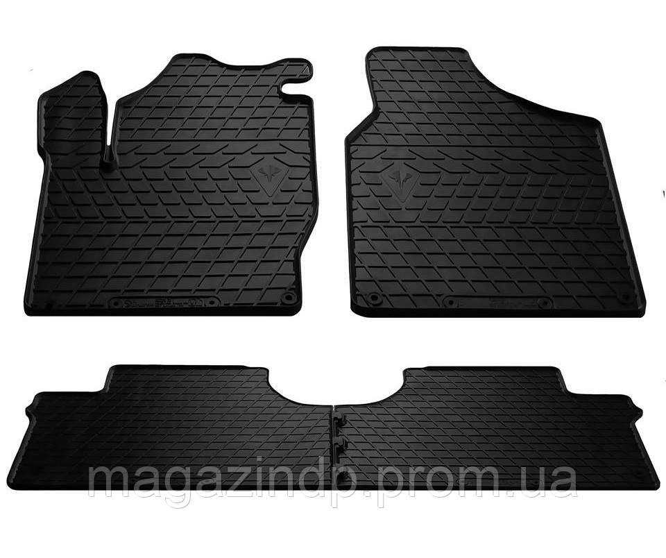 Коврики в салон для Volkswagen Sharan 95-/Se Alhambra I 96-/ Ford Galaxy 95-(design 2016) (комплект - 4 шт) 1024184 Код товара: 1475693