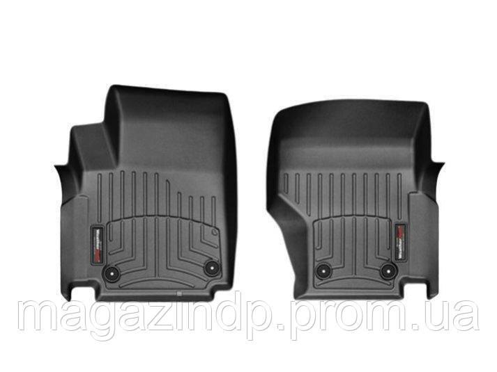 Коврики в салон для Volkswagen Amk 2009-14 с бортиком черные передние 443261 Код товара: 1476207