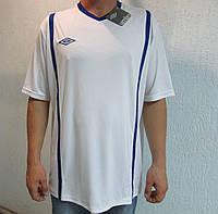 Мужская футболка Umbro белая  код 041в