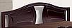 Кровать Марго 140-200 см (каштан), фото 2