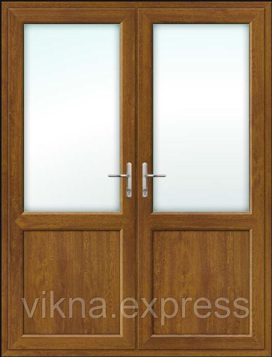 Пластиковая межкомнатная штульповая дверь ламинация с обеих сторон