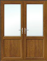 Пластиковая межкомнатная штульповая дверь ламинация с обеих сторон, фото 1