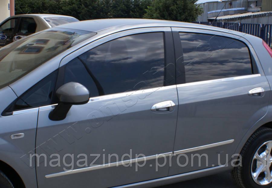 Fi e Punto/Punto  5D (2005-) Молдинги стекол нижние 6шт Код товара: 1488536
