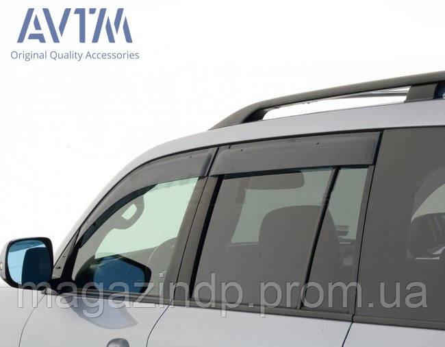 Дефлекторы окон (ветровики) Toyota Land r 200/Lexus LX570 2007- (широкие) Код товара: 1490287