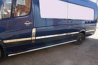 Mercedes Sprinter/Volkswagen er 906 (2006-) Молдинг дверной 10шт (Средняя база) Код товара: 1491841