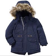 Зимняя куртка с опушкой для мальчика Topolino Германия Размер 122, 128