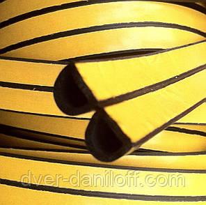 Уплотнитель самоклеющийся окон дверей, STOMIL SANOK, D 7,5х9, коричневый, Стомиль Санок, фото 2