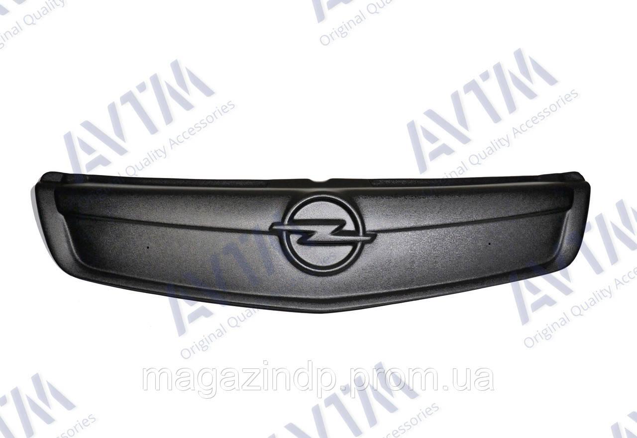 Зимняя накладка (матовая) Opel Viv 2006-2015 (верх решетка) Код товара: 3675871