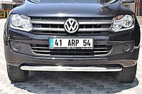 Защита переднего бампера (кенгурятник) Volkswagen Amk 2010+ /Ø76 Код товара: 3676183