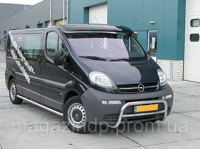 Козырек  Тrafic/Opel Viv (01-) / акрил.на креплении Код товара: 3677508