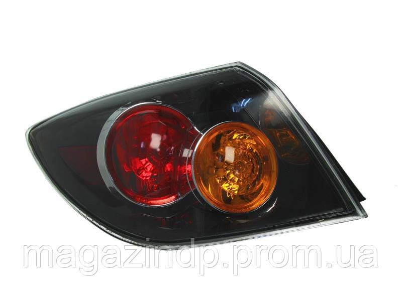 Фонарь задний Mazda 3 Hb 2003-2005 левый внешний черный 216-1964L-UQ Код товара: 3722674