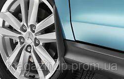 Брызговики передние для Mitsubishi ASX (10-) без расшир арок оригинальные 2шт MZ314440 Код товара: 3725462