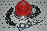 Косильная головка с цепками для бензокосы, фото 4