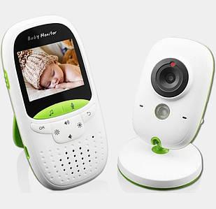 Видеоняня Радионяня  Video baby Monitor с функцией ночного видения и датчиком температуры vb602 няня