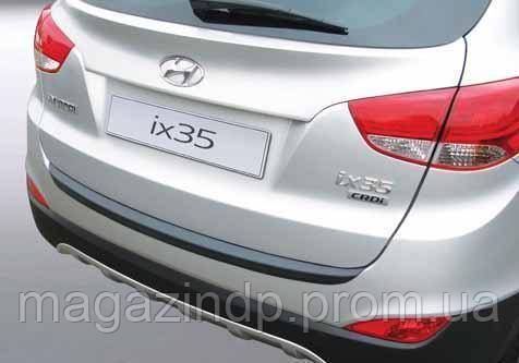 Накладка на задний бампер  ix35 2010-, ABS-пластик Код товара: 3728566