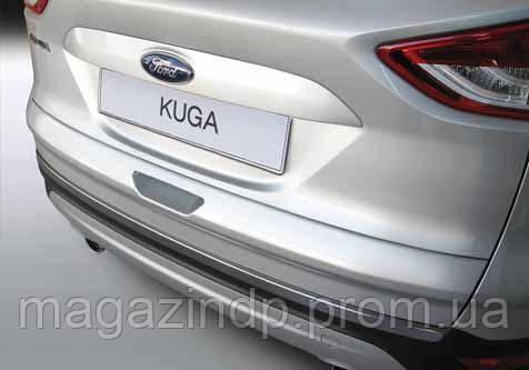 Накладка на задний бампер Ford Kuga 2013-, ABS-пластик RBP589 Код товара: 3728612
