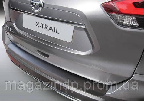Накладка на задний бампер Nissan X-Trail T32 2017-, ABS-пластик RBP695 Код товара: 3728641