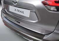 Накладка на задний бампер Nissan X-Trail T32 2017-, ABS-пластик RBP695 Код товара: 3728641, фото 1