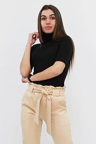 S, M, L, XL / Жіночий ангоровий гольф Bruss, чорний