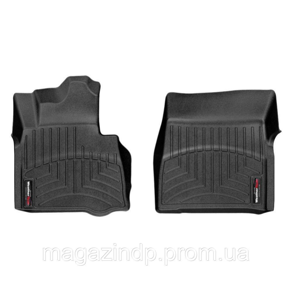 Коврики в салон для Mercedes-Benz G 2013- с бортиком черные передние 444941 Код товара: 3732250
