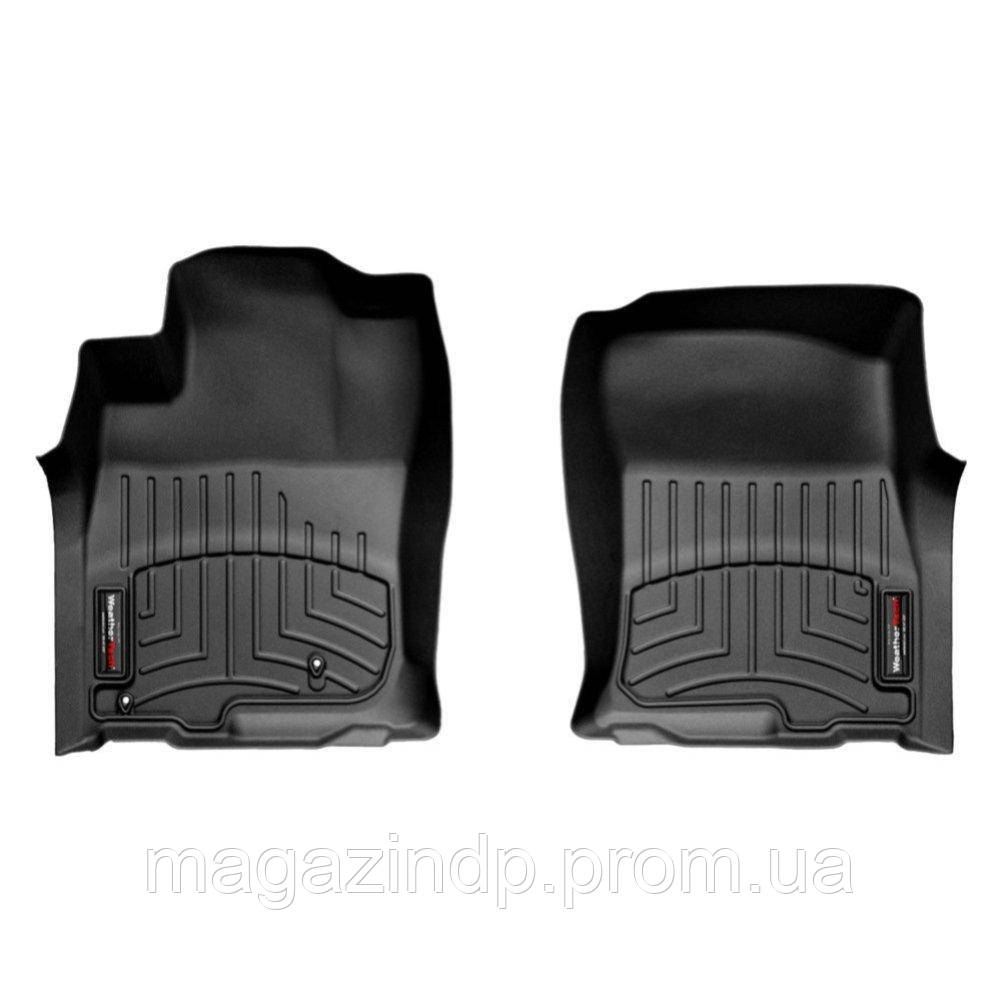 Коврики в салон для Toyota Land r Prado 150 2009-13 с бортиком черные передние 442861 Код товара: 3732293