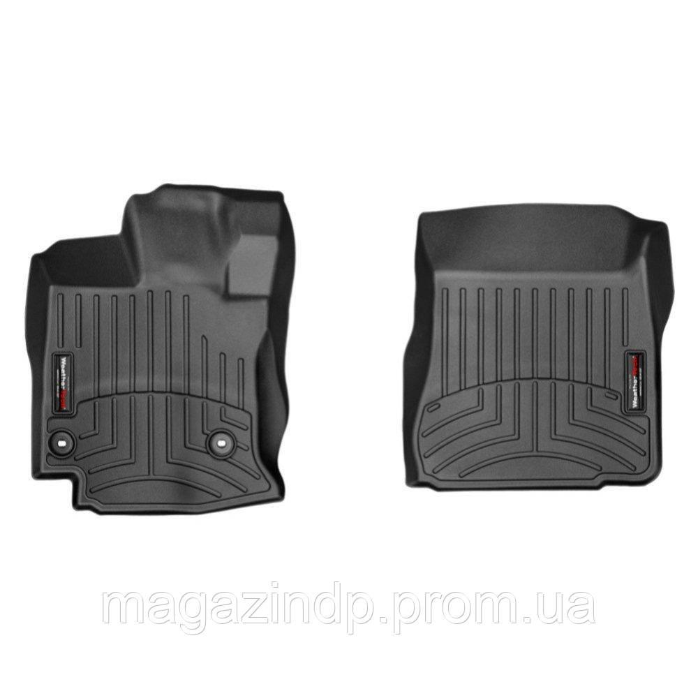 Коврики в салон для Toyota Venza 2012- с бортиком передние черные 444721 Код товара: 3732304