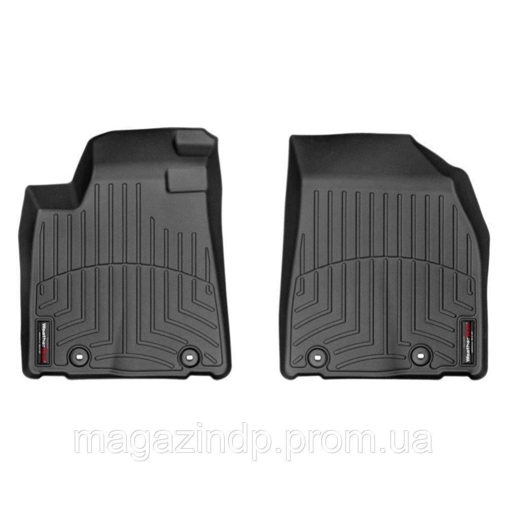 Коврики в салон для Lexus RX 2013- с бортиком передние черные 444561 Код товара: 3732353