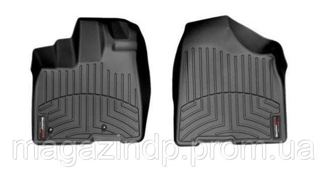 Коврики в салон для Toyota Sienna 2010- передние черные 443001 Код товара: 3732357