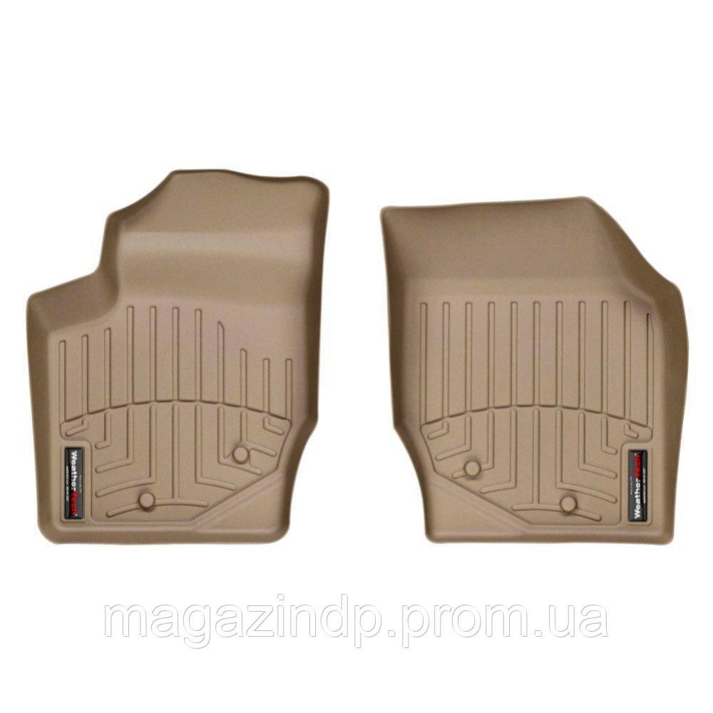 Коврики в салон для  XC90 2003-14 с бортиком передние бежевые 450531 Код товара: 3732358