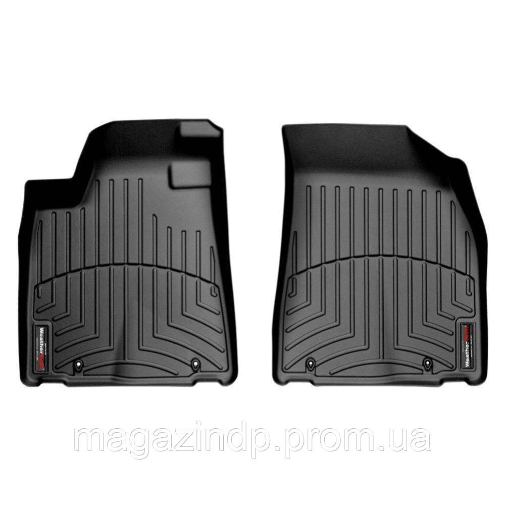 Коврики в салон для Lexus RX 2009-13 с бортиком передние черные 442291 Код товара: 3732359
