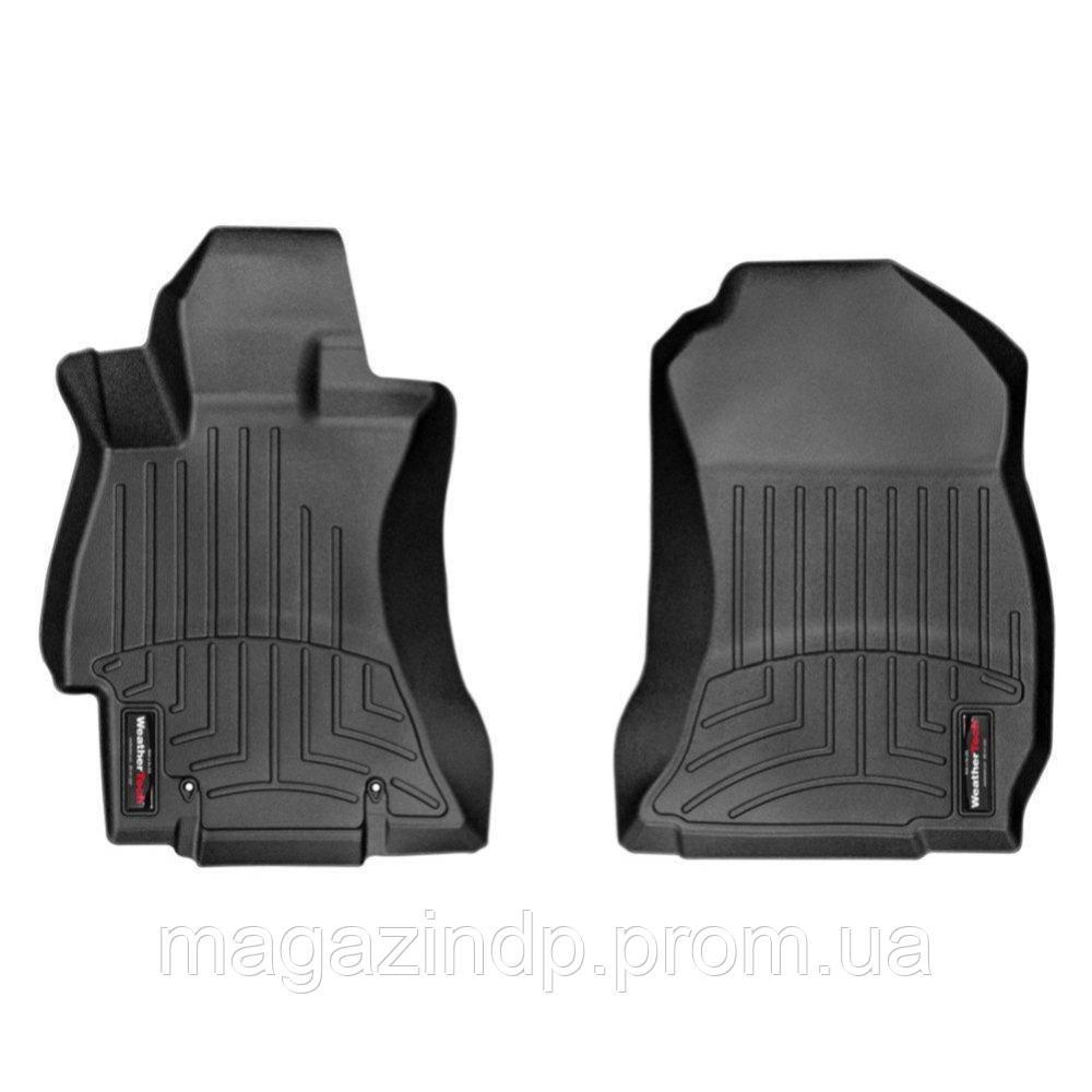 Коврики в салон для  Forester 2013- с бортиком передние черные 445311 Код товара: 3738745