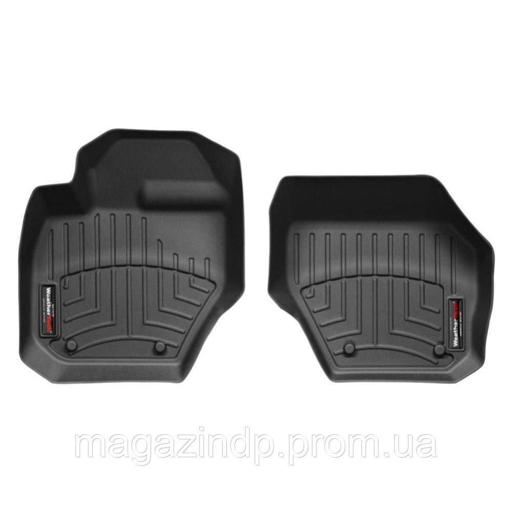 Коврики в салон для  XC60 2008- с бортиком передние черные 442341 Код товара: 3738763