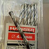 """Сверло по металлу """"HAISSER"""" 4.2 мм, фото 2"""