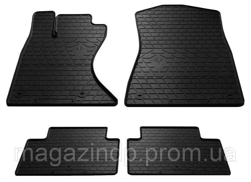 Коврики в салон для Lexus GS (4) 05- (design 2016) (комплект - 4 шт) 1028054 Код товара: 3779231