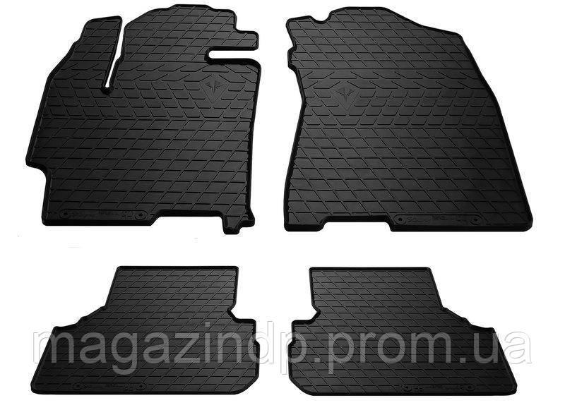 Коврики в салон для Mazda Prey 99- (design 2016) (комплект - 4 шт) 1011154 Код товара: 3779268