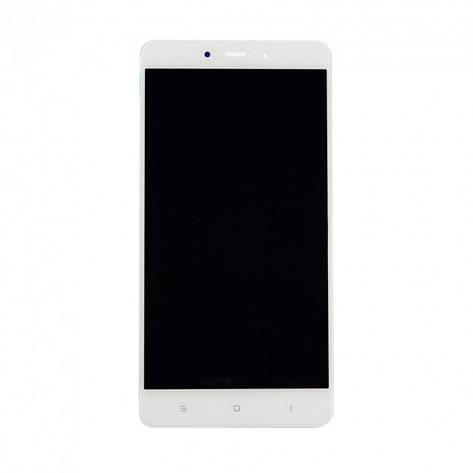Дисплей (LCD) Xiaomi Redmi 4 с сенсором белый, фото 2